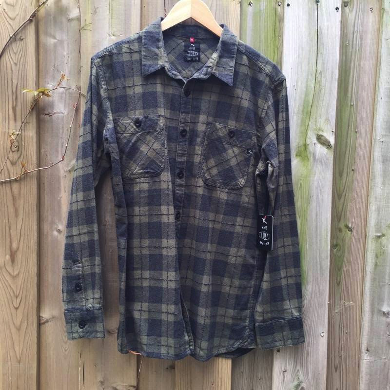 SHIRT - Mens Lost Longsleeve shirt - DRB