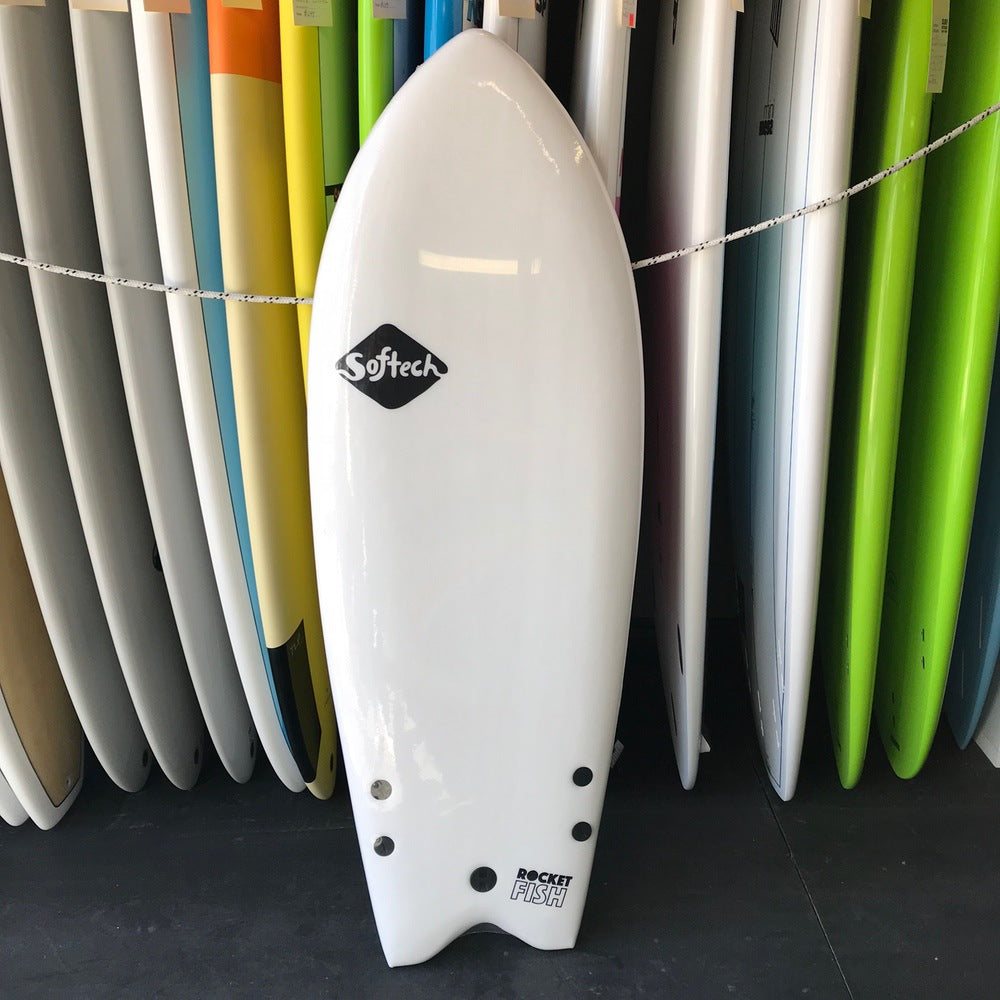 Softech Rocket Fish 4'8 FCS II White/Marble