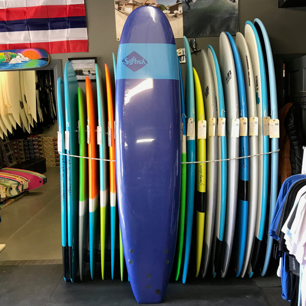 Softech Handshaped 8'0 Smoked Navy - FCS