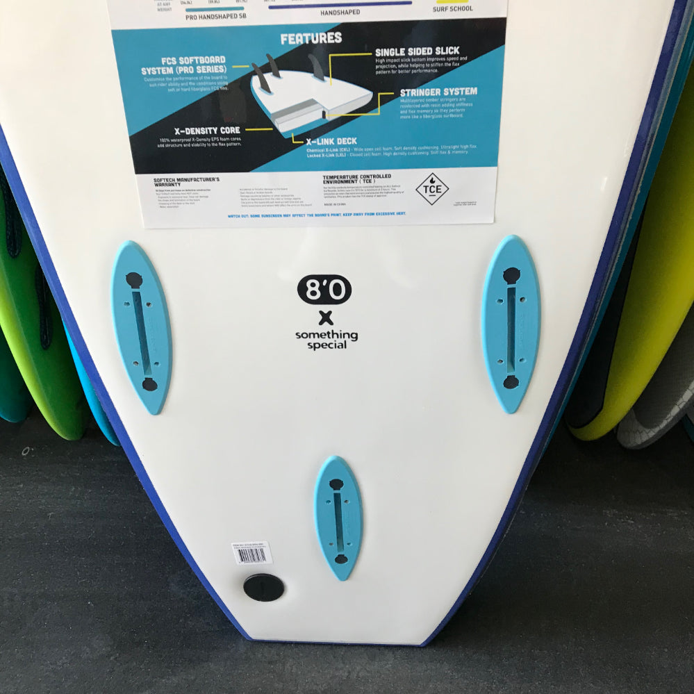 Softech Handshaped 8'4 Smoked Navy - FCS - Surf Ontario