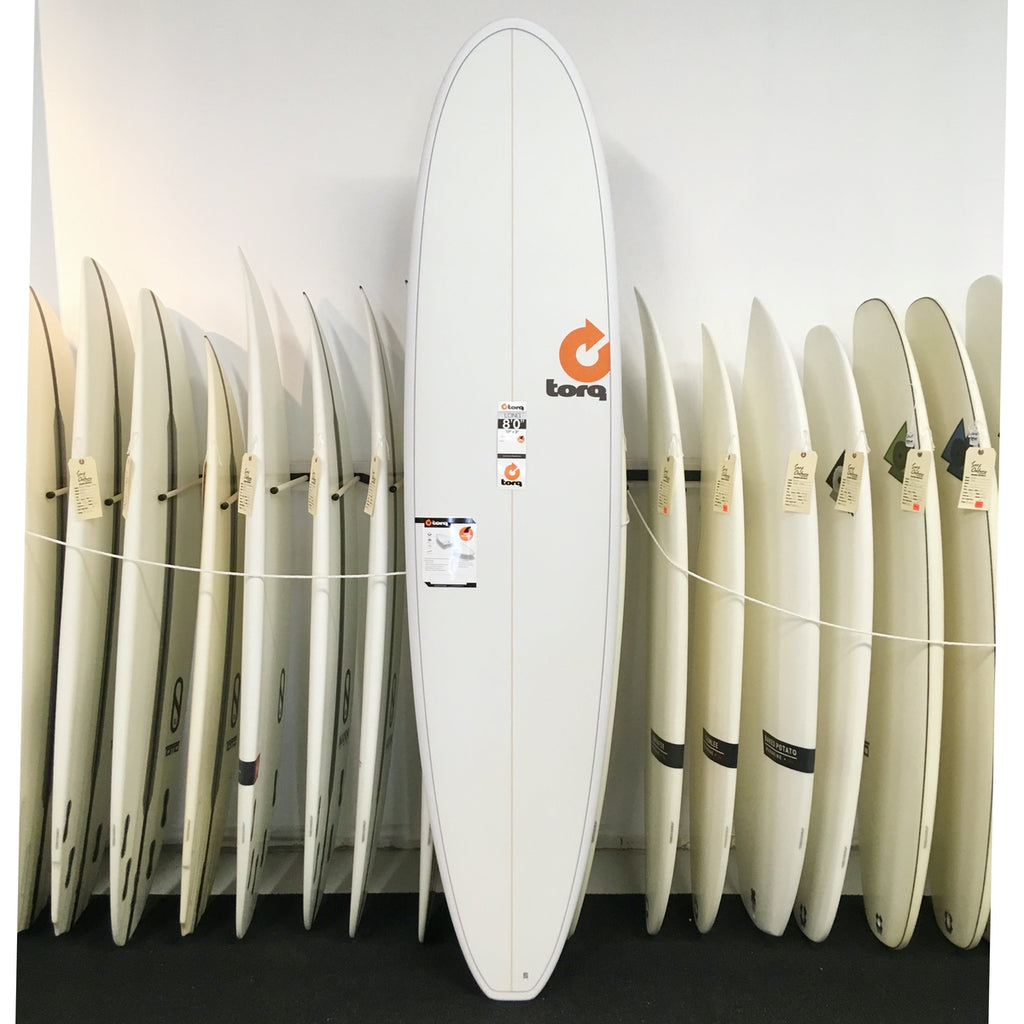 Torq MINI LONG - 8'0 White Pinline