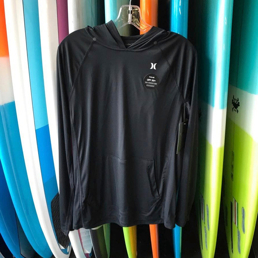 Hurley Wet/Dry Icon Long Sleeve Hooded Rash Vest