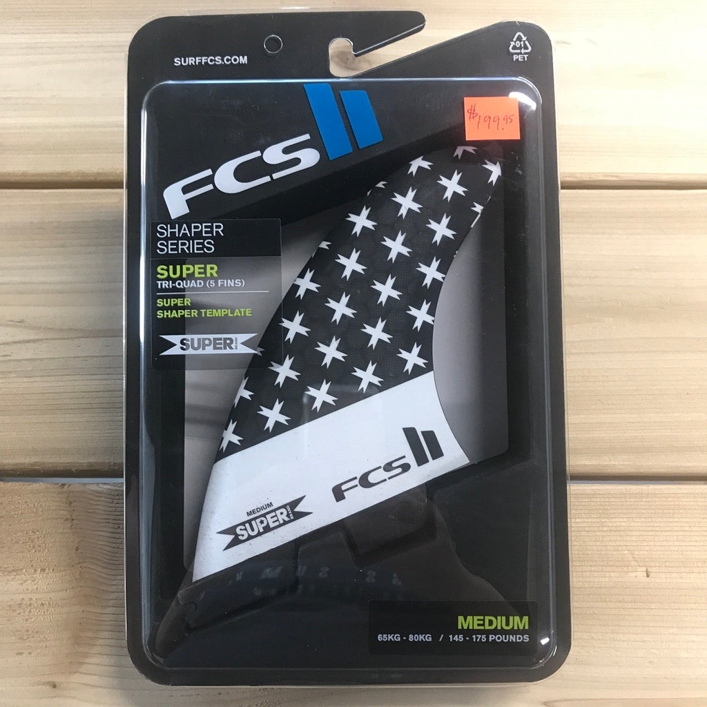 FCS II 5 FIN - 5 Fin Super Brand PC Tri-Quad Medium