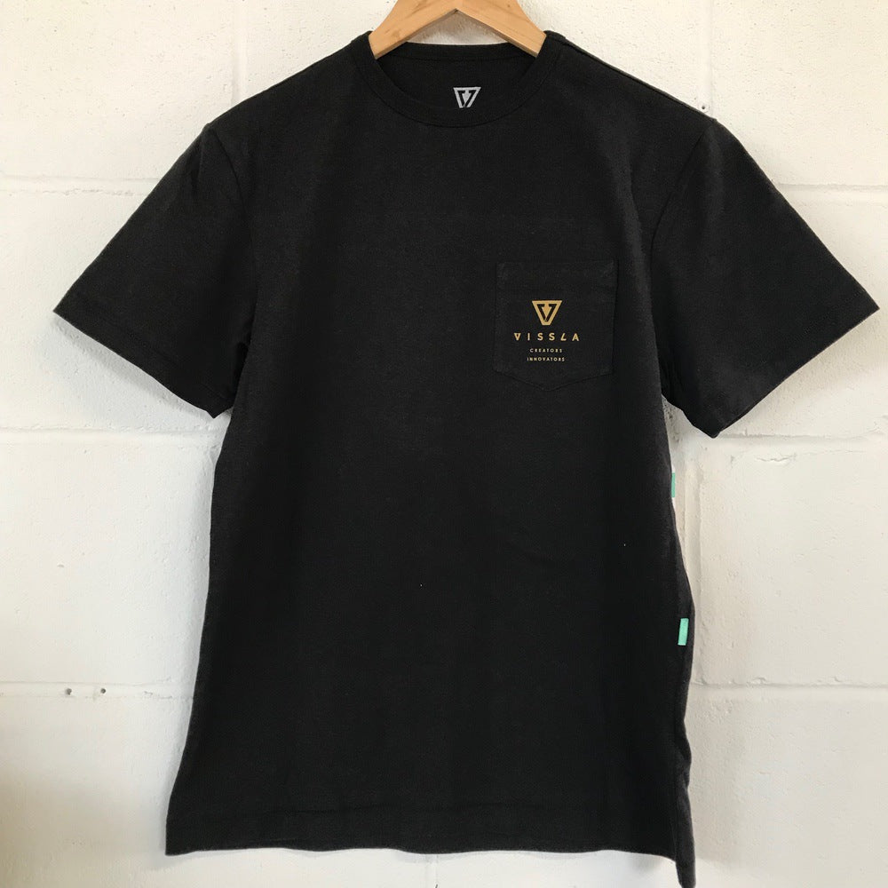 Vissla Surf Ontario Bubble Lakes T-Shirt - Black