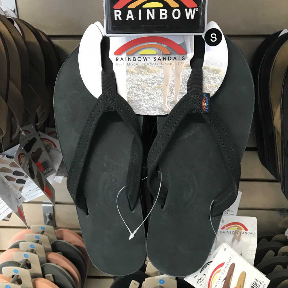 Flip Flops / Sandals - Rainbow Original - 302 ALTSN - Double Layer/Narrow Strap - Ladies