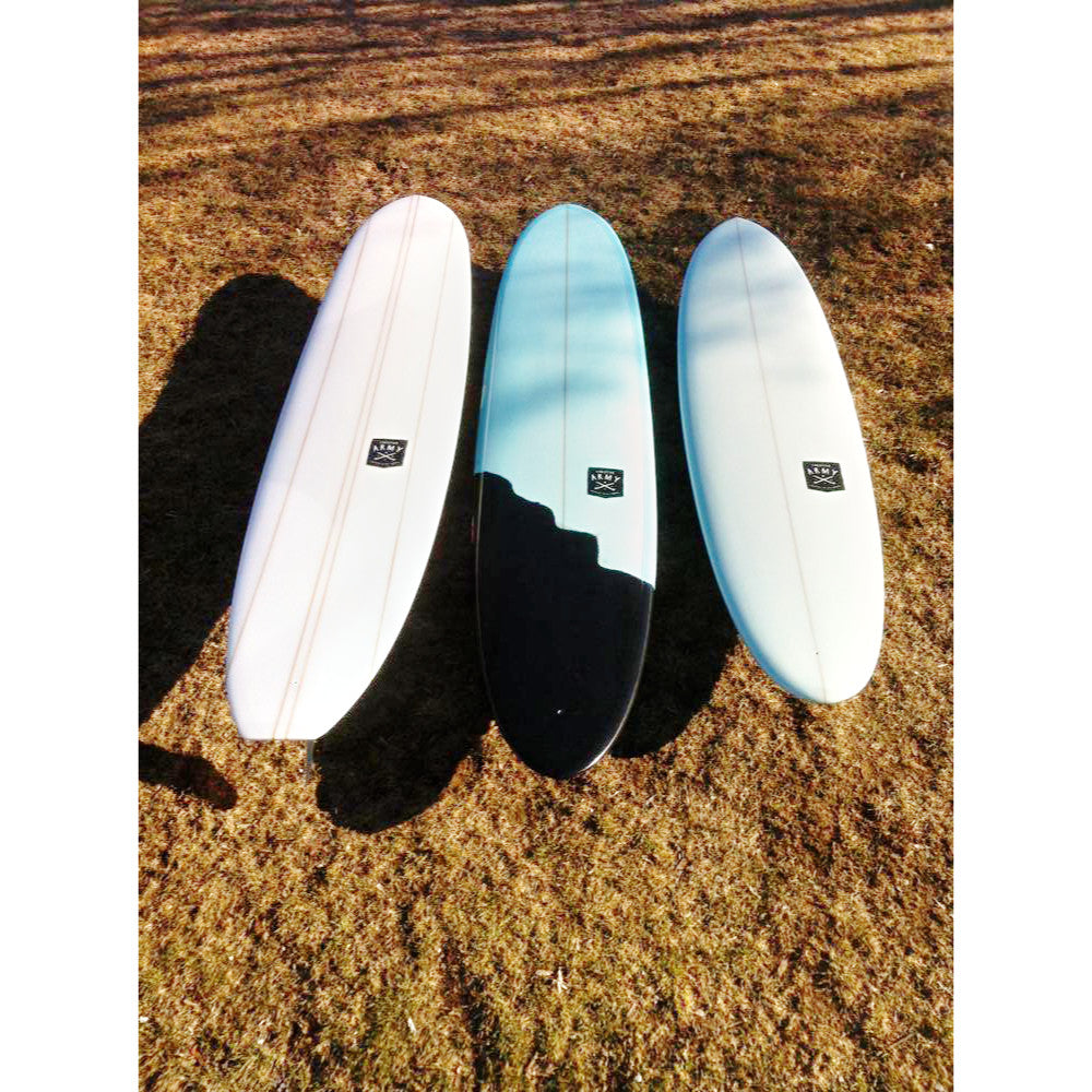 Creative Army - 9'6 Jive PU Blue Black Tint - poly - Surf Ontario
