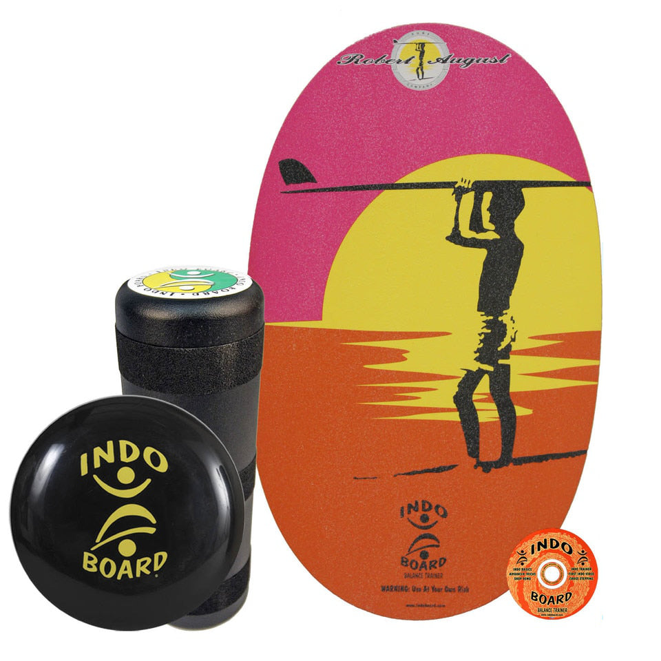 Indo Board Original w/Roller - Endless Summer - (DECK, ROLLER, CUSHION)