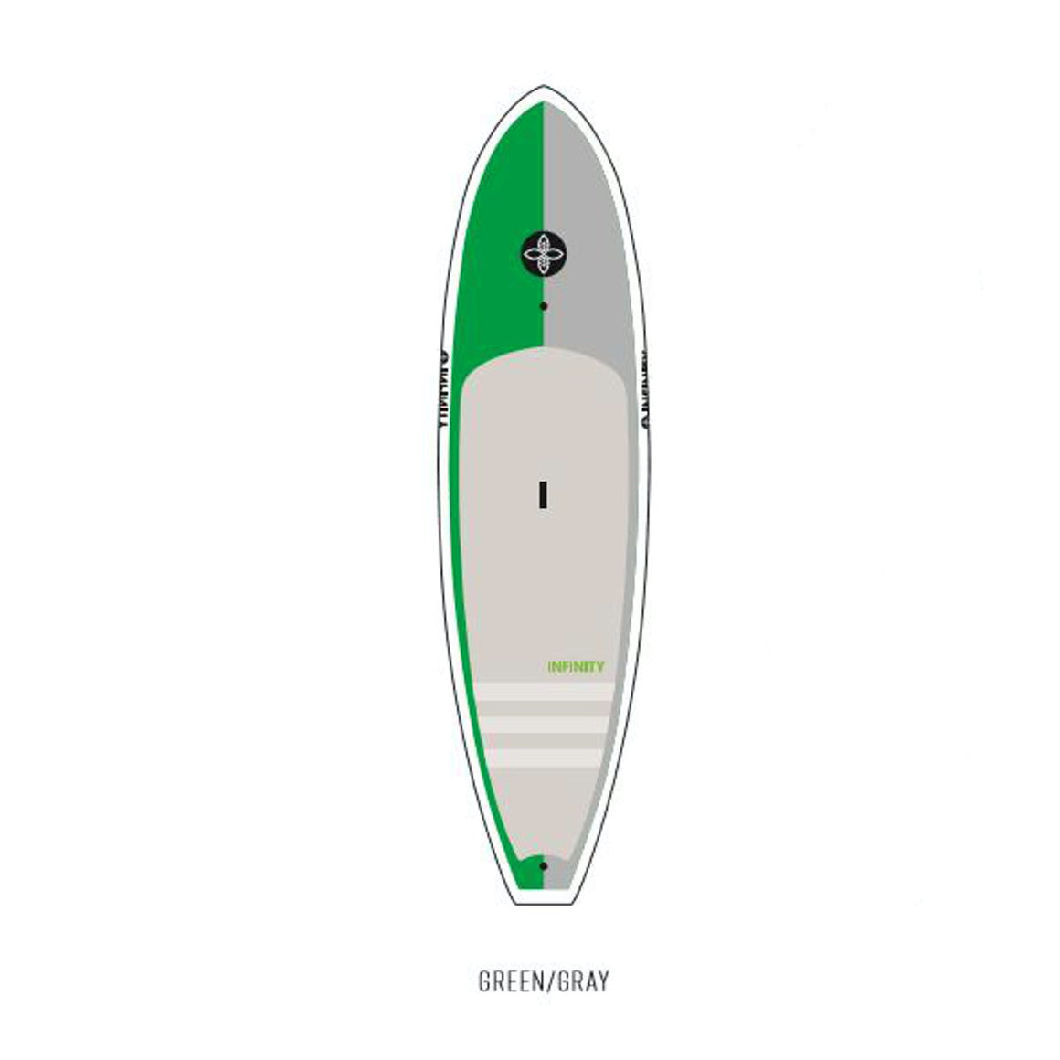 Infinity - 10'8 All Arround Wide Aquatic - Green