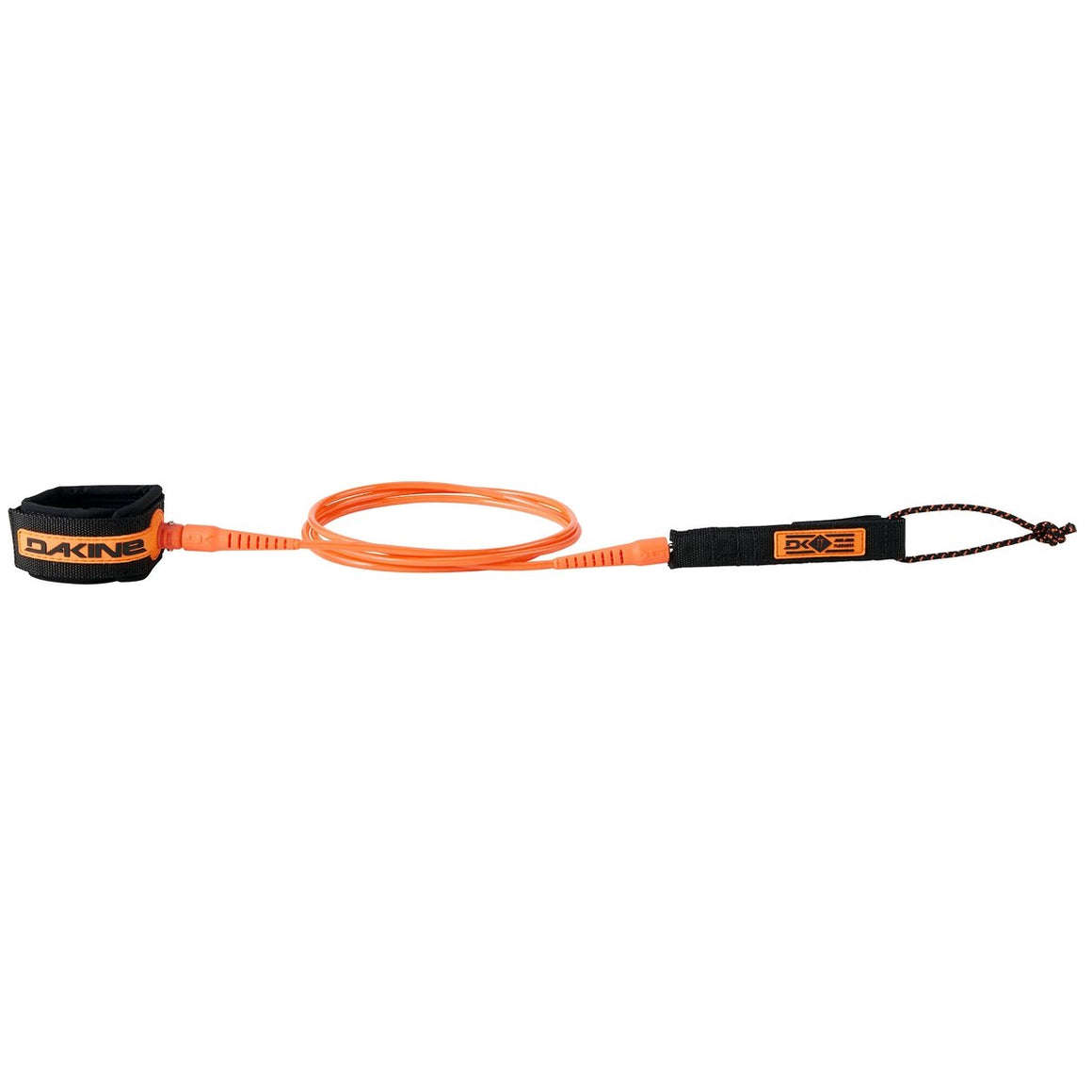 "Leashes - Dakine - JJF Comp 6' x 3/16"" Leash (Black/Orange)"