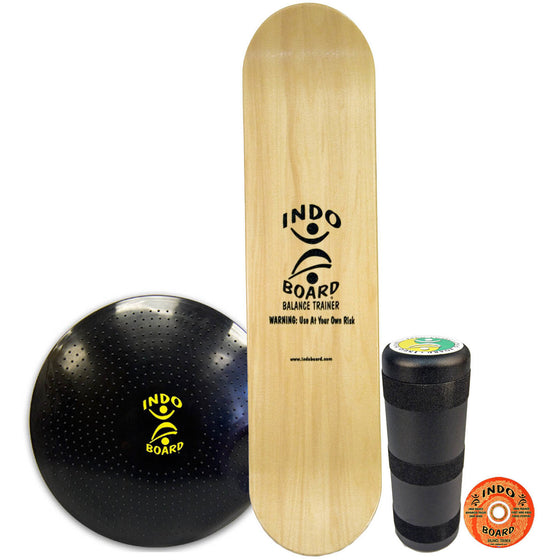 Indo Board Pro Natural Kicktail (DECK, ROLLER, CUSHION)