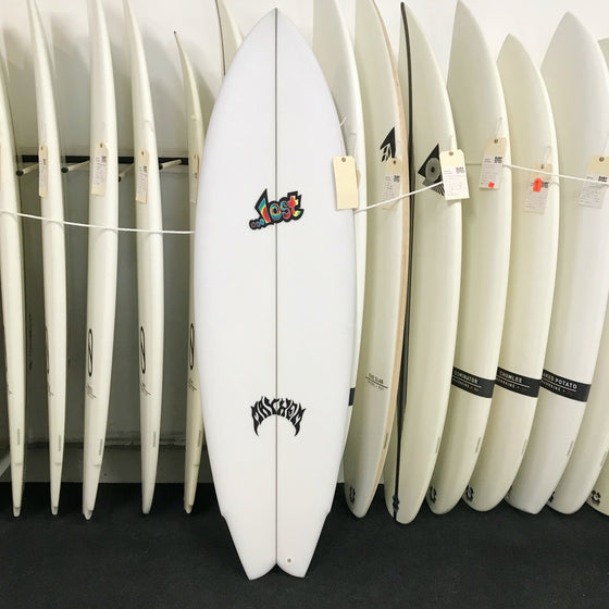 Lost Round Nose Fish 5'8 REDUX - PU - 5 FCSII