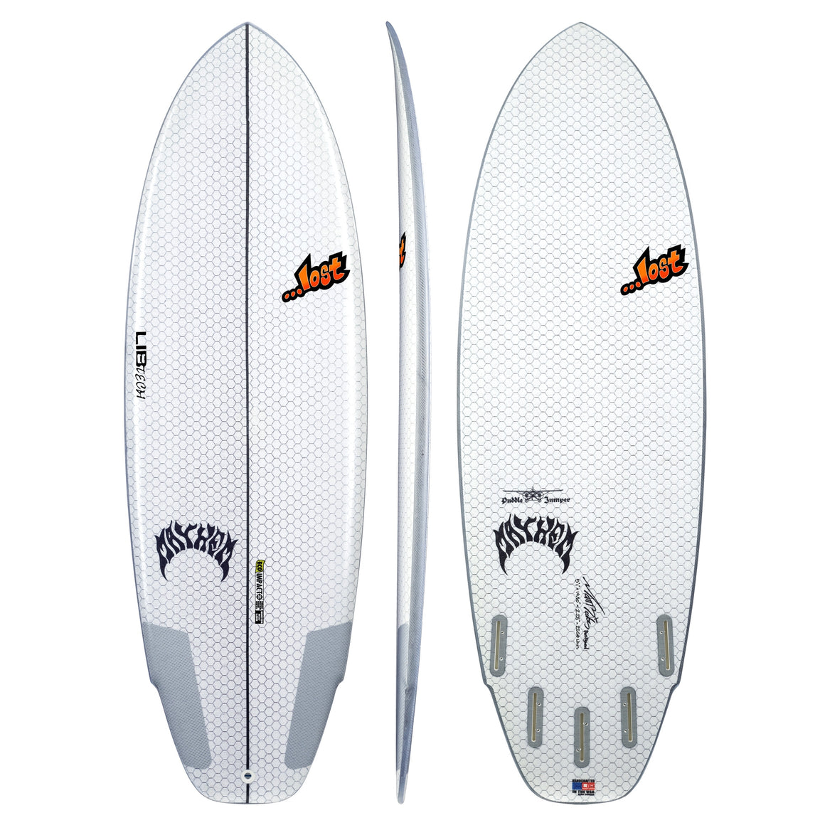 Libtech Puddle Jumper - Lib X Lost 5'7 (FCSII COMPATIBLE)