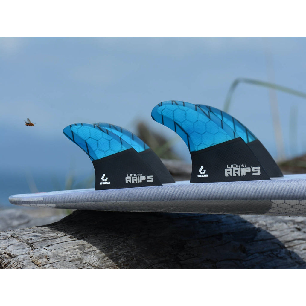 Libtech Fins - Quad Fin Set - Blue