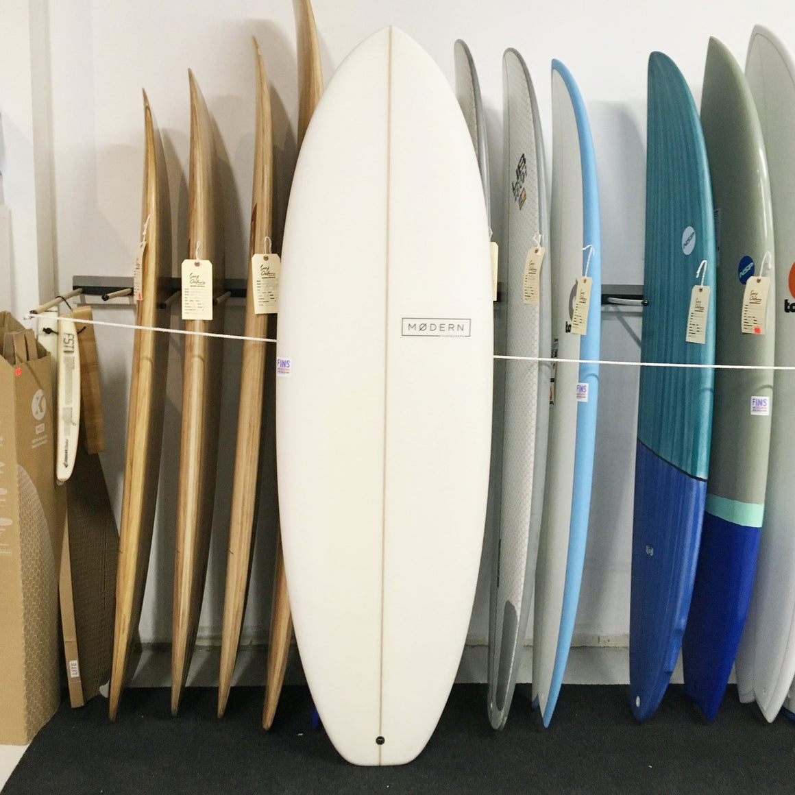 Modern 6'4 Highline PU Clear