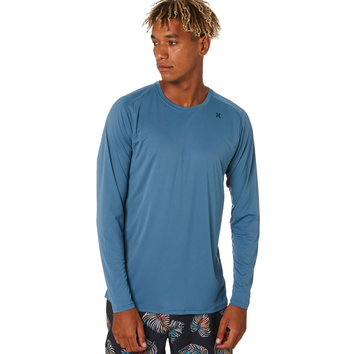 Men's Rashies Hurley Quick Dry T-Shirt L/S - Thunderstorm