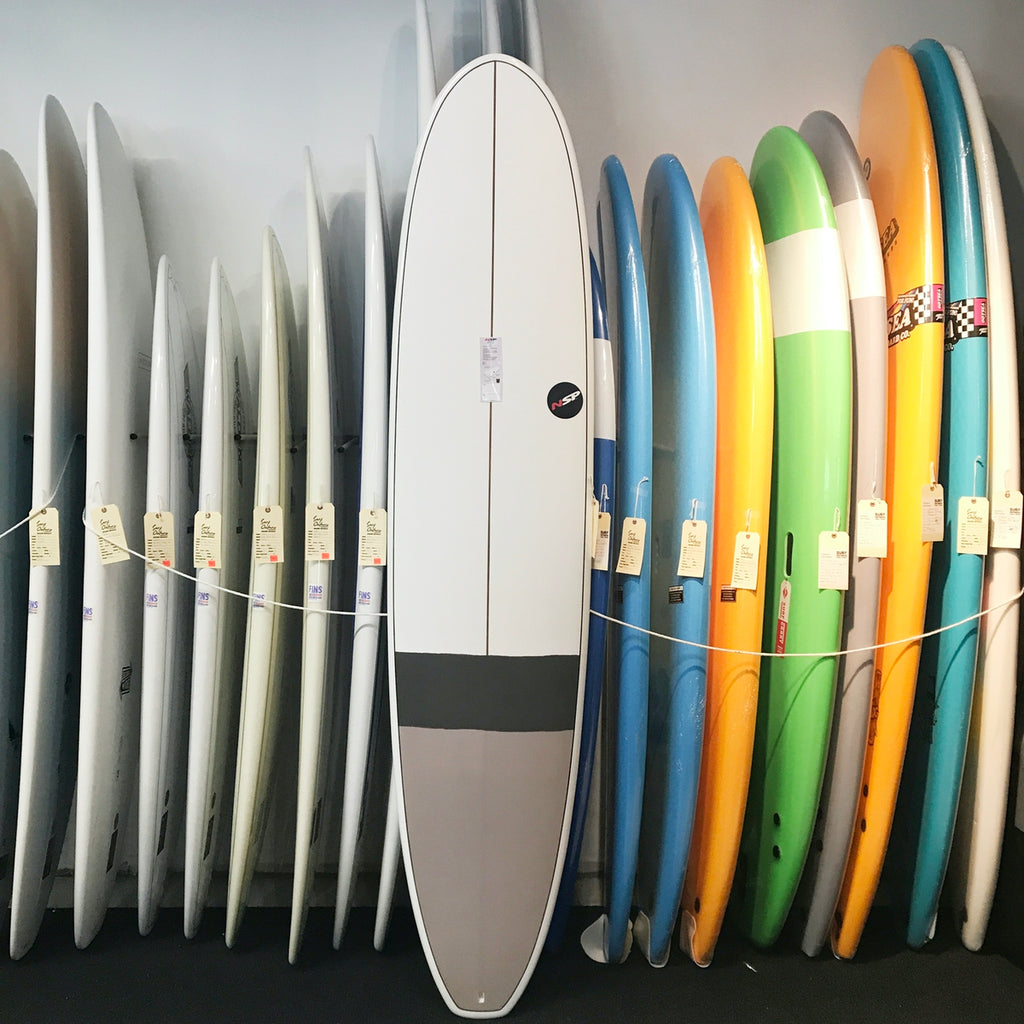 "NSP - 8'6""  E-Plus Longboard Grey"