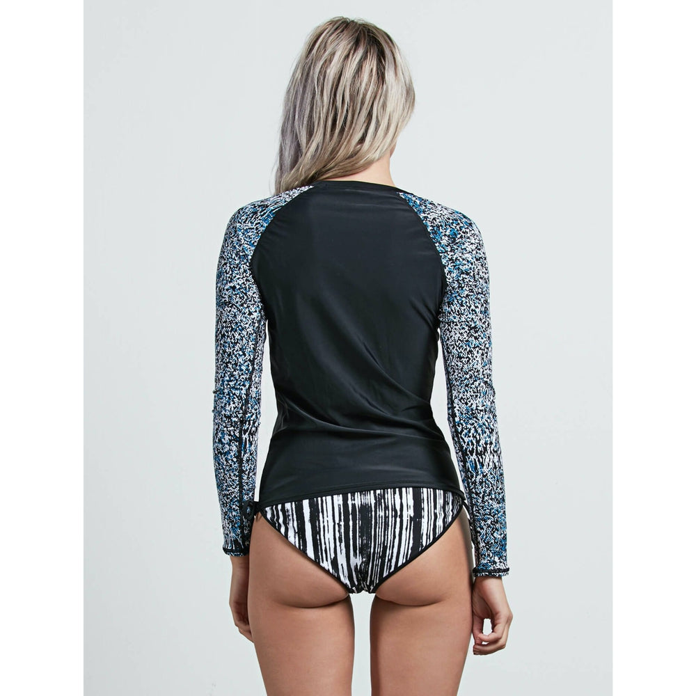 Volcom Womens Rashies: Stay Tuned Long Sleeve Rashguard