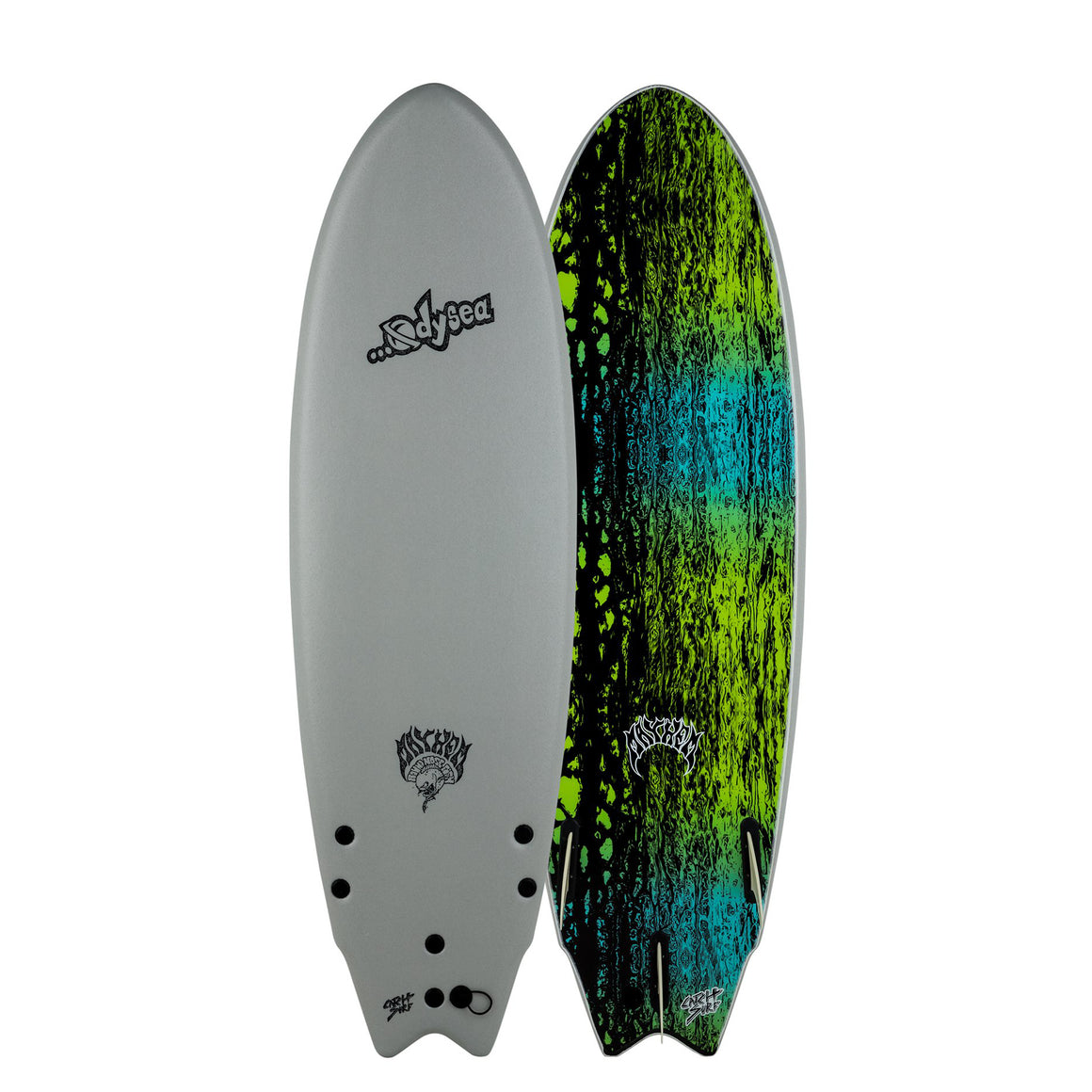 Odysea X Lost Round Nose Fish RNF 5'11 - Grey 20