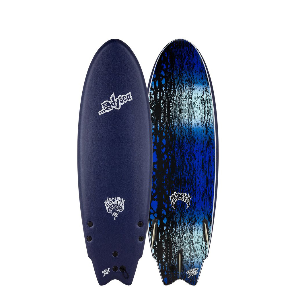 Odysea X Lost Round Nose Fish RNF 5'11 - Midnight Blue 20