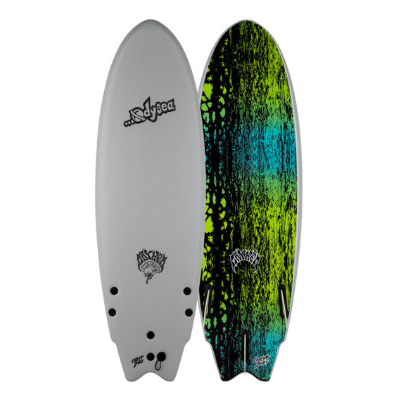 Odysea X Lost Round Nose Fish RNF 5'5 - Grey 20