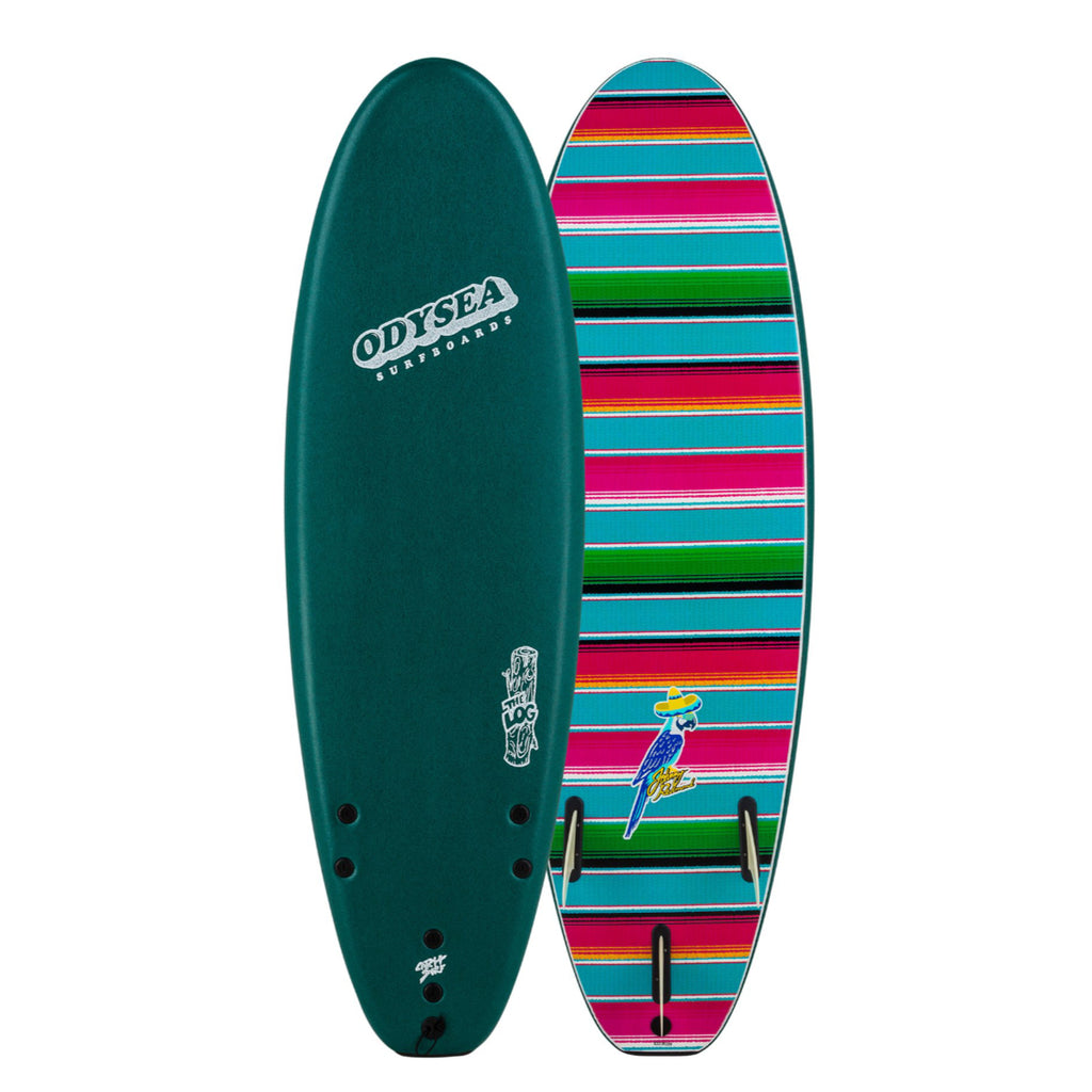 Odysea Log 6'0 Johnny Redmond Verde Green 20