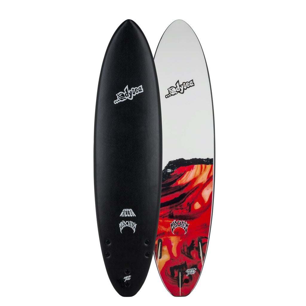 Odysea X ...LOST Crowd Killer 7'2 - Black 20