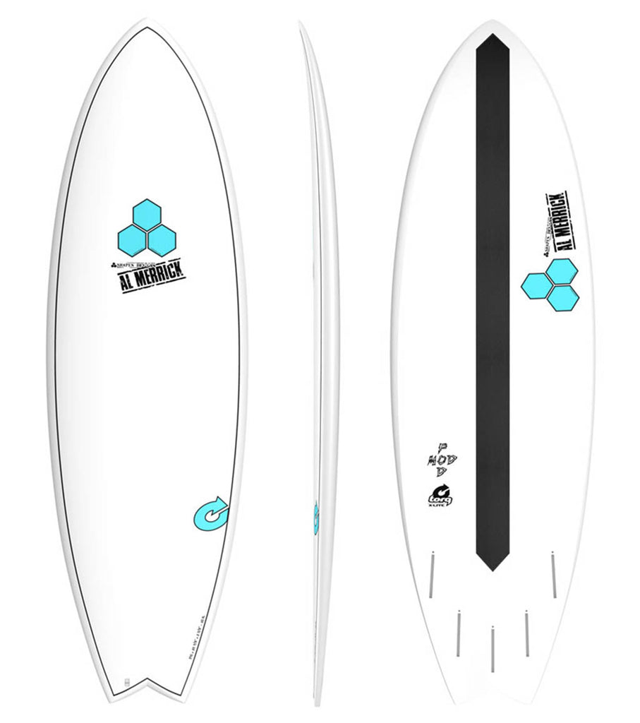 Channel Islands PodMod 6'6 - 5 fin FUT - X-LITE - Surf Ontario