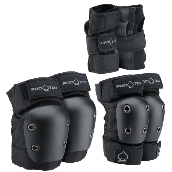 Protective Gear (Skate) - Protec Junior Pad Set: 3-pack