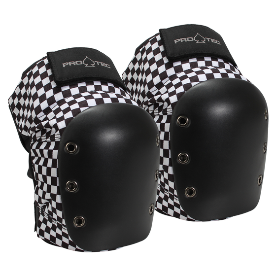 Protective Gear (Skate) - Pro-tec Street Knee Pads - Checker