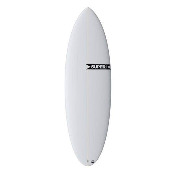Super Brand The Pug 6'0 - Futures - Colour - CLEAR - PU - Surf Ontario