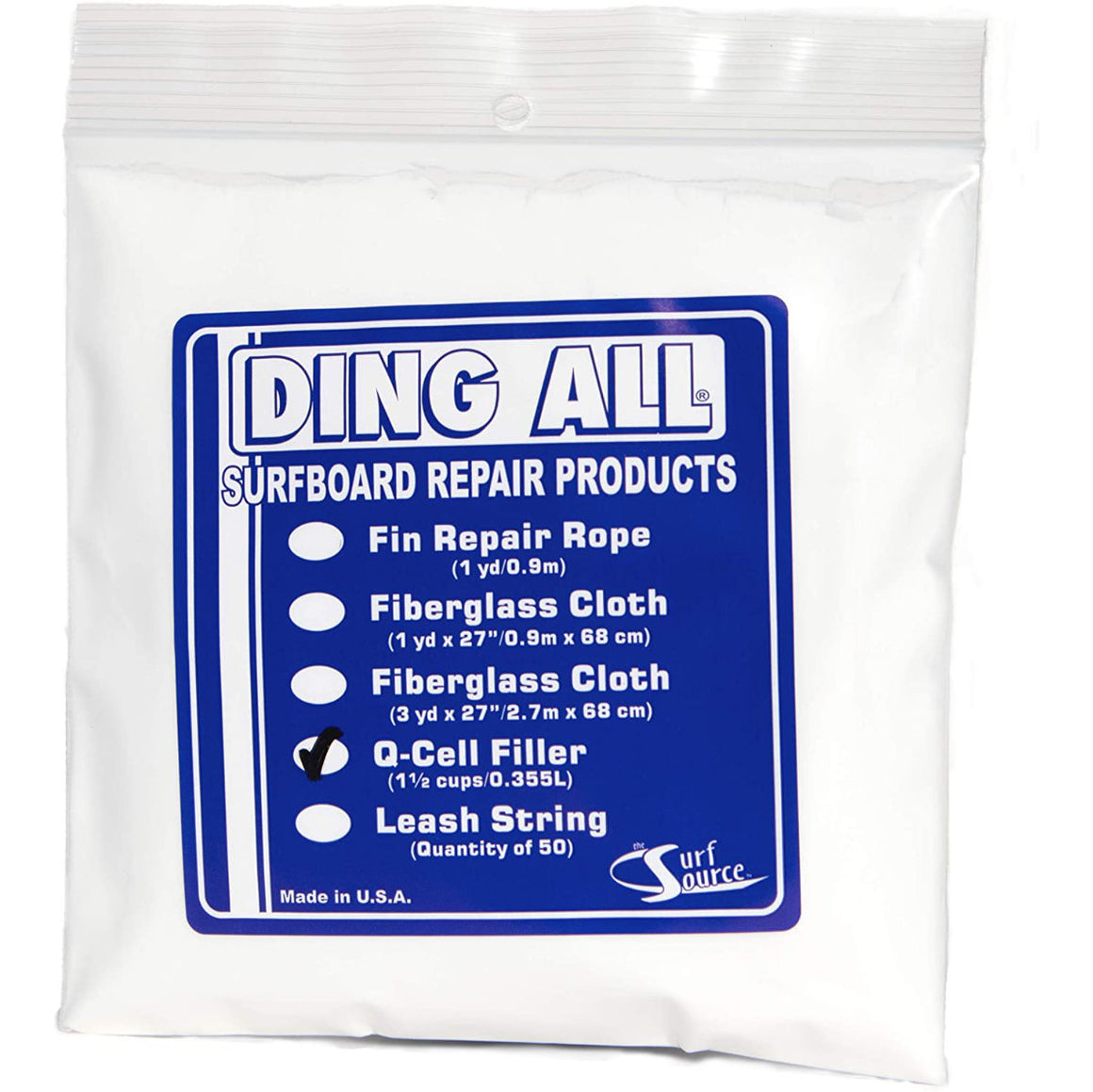 Ding Repair  - Ding All Q-Cell Filler