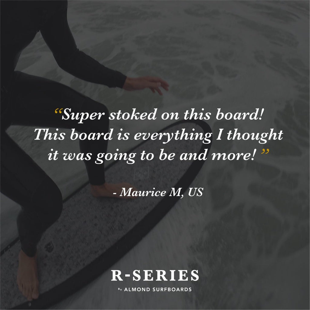 Almond R-Series 5'4 Secret Menu | SURFRIDER FOUNDATION
