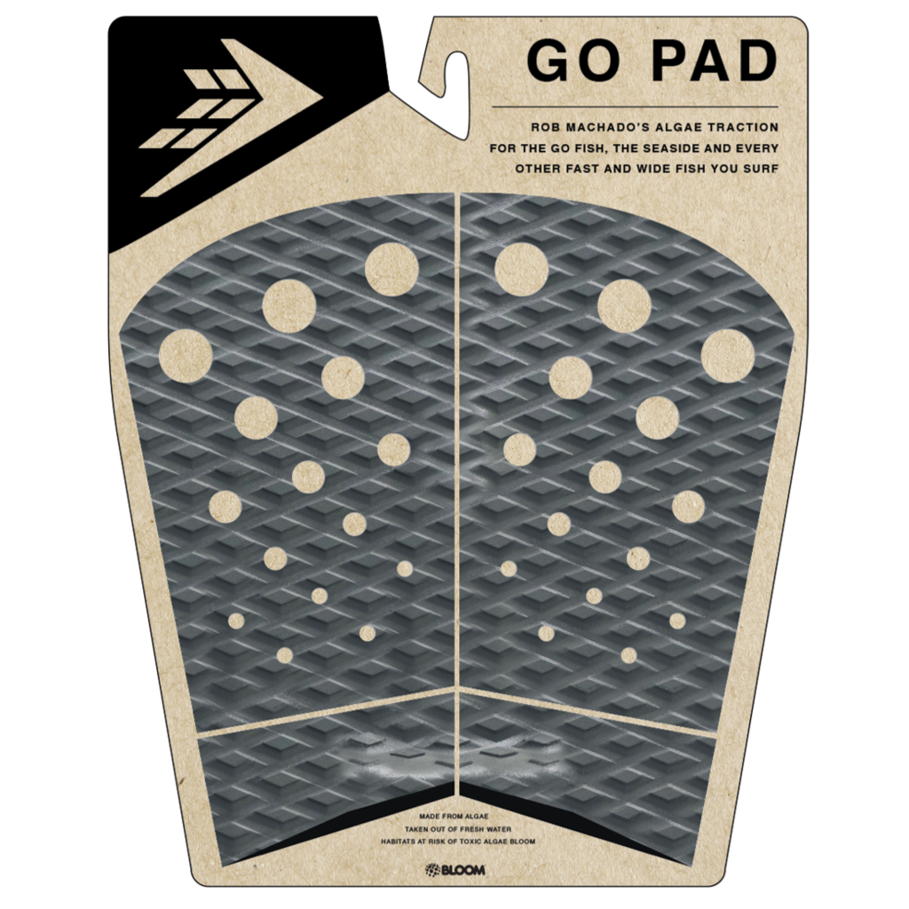 Deck pads - Firewire - 4 Piece Go Pad Traction - Charcoal/Black
