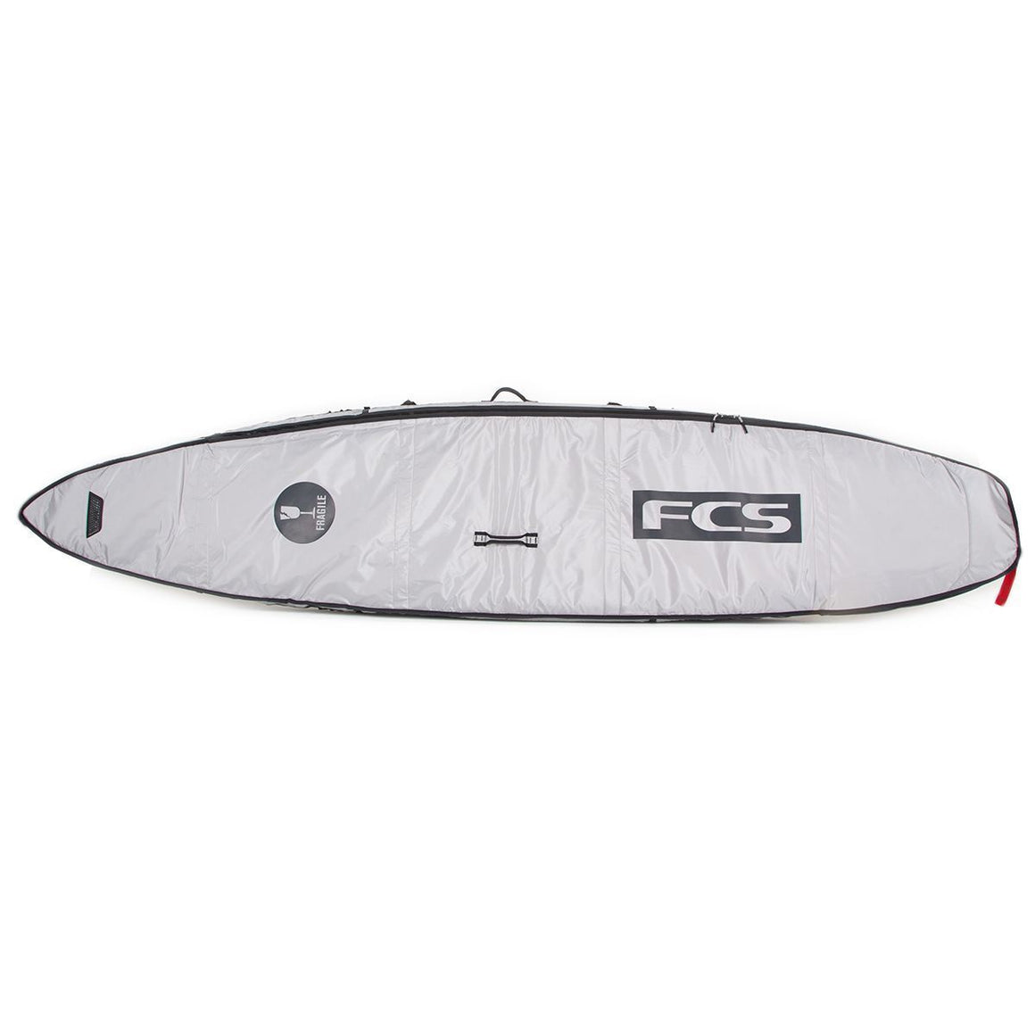 FCS board bag - SUP Racing Cover Cool Grey 12'6