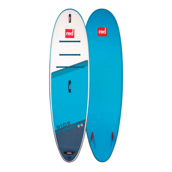 Red Paddle Co. 9'8 Ride 2021