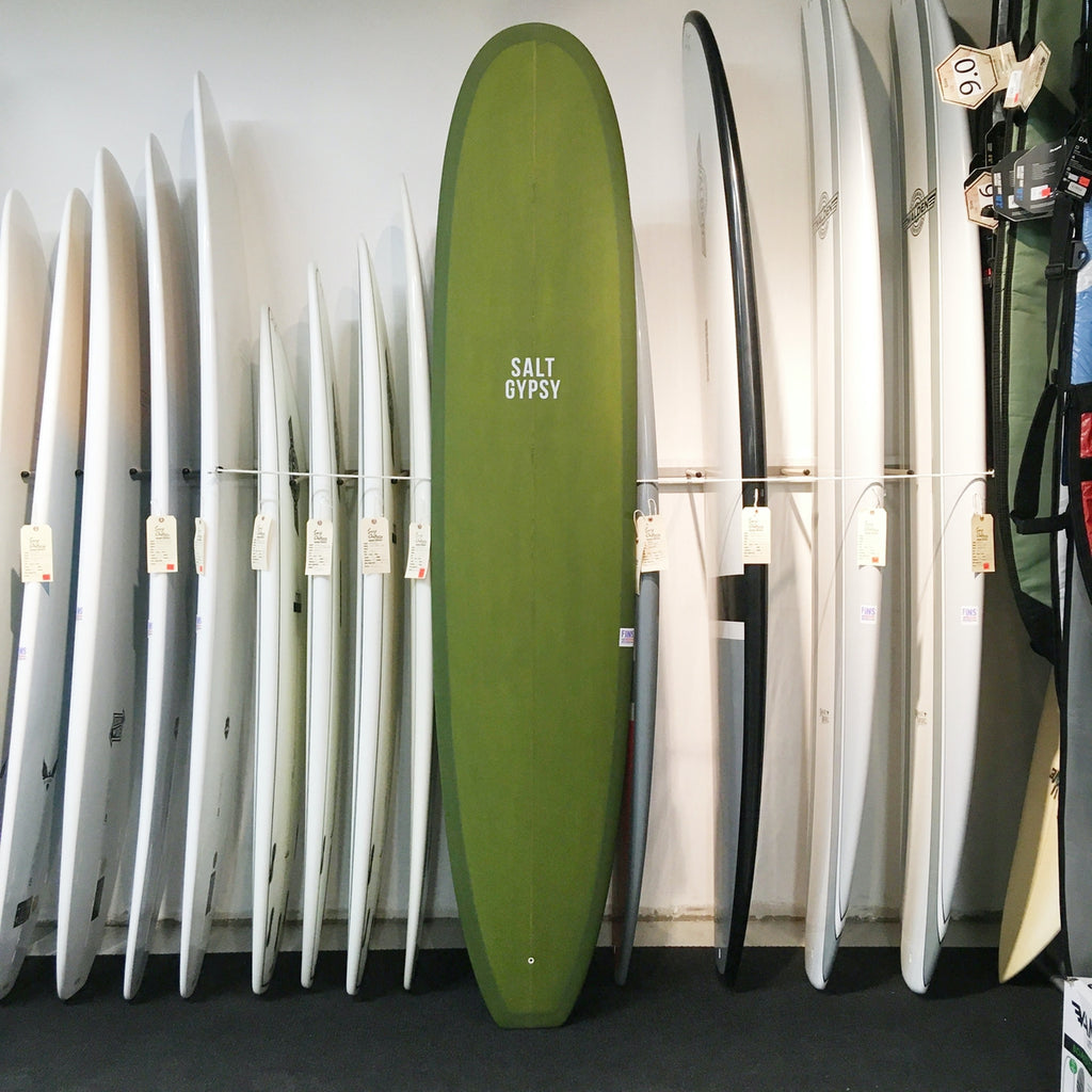 Salt Gypsy Dusty Retro 9'0 Longboard Olive Tint