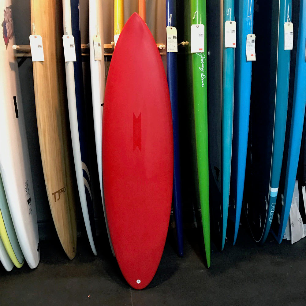 Super Brand 6'0 Pig Dog  - Red Tint Poly 5-FUT**