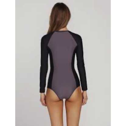Volcom Womens Simply Solid Swim Bodysuit