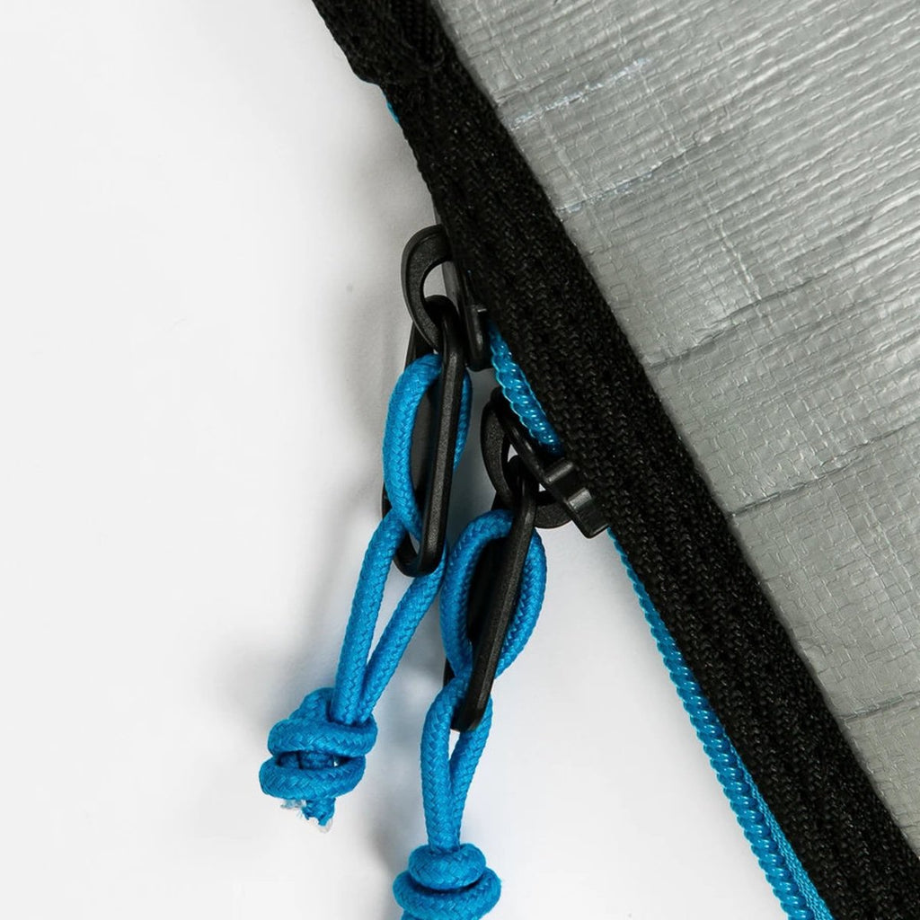 Creature of Leisure board bag -Shortboard Lite 6'7  : Charcoal Cyan