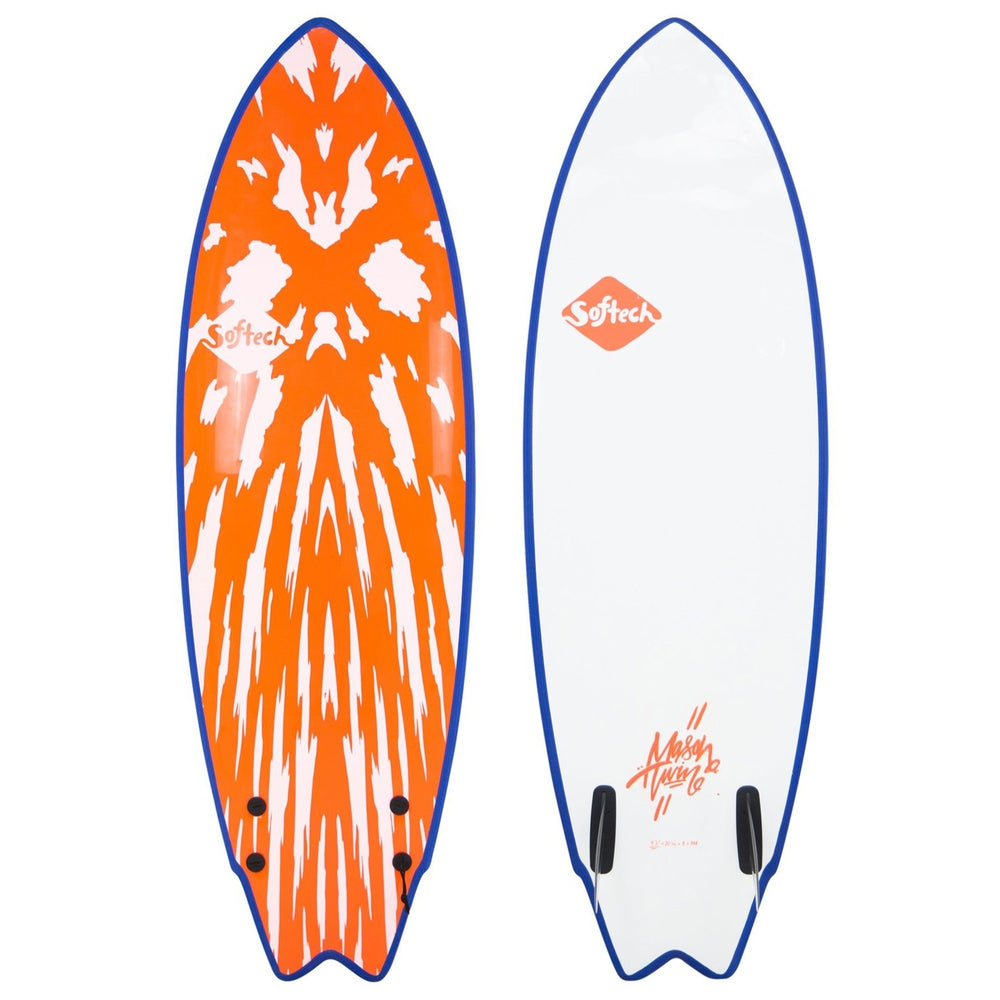 Softech Mason Twin 5'6 Neon Red/White