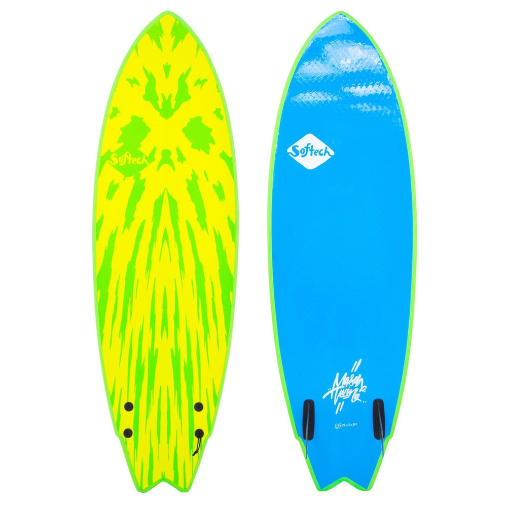 Softech Mason Twin 5'6 Lime/Yellow