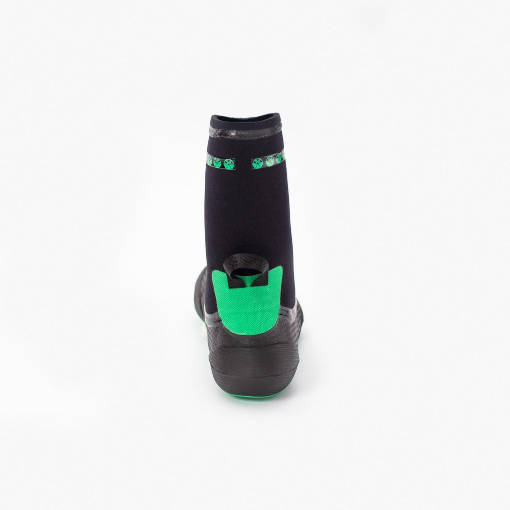 Booties 3mm SOLITE Custom Green/Black 2020 (inc. heat sock boosters)