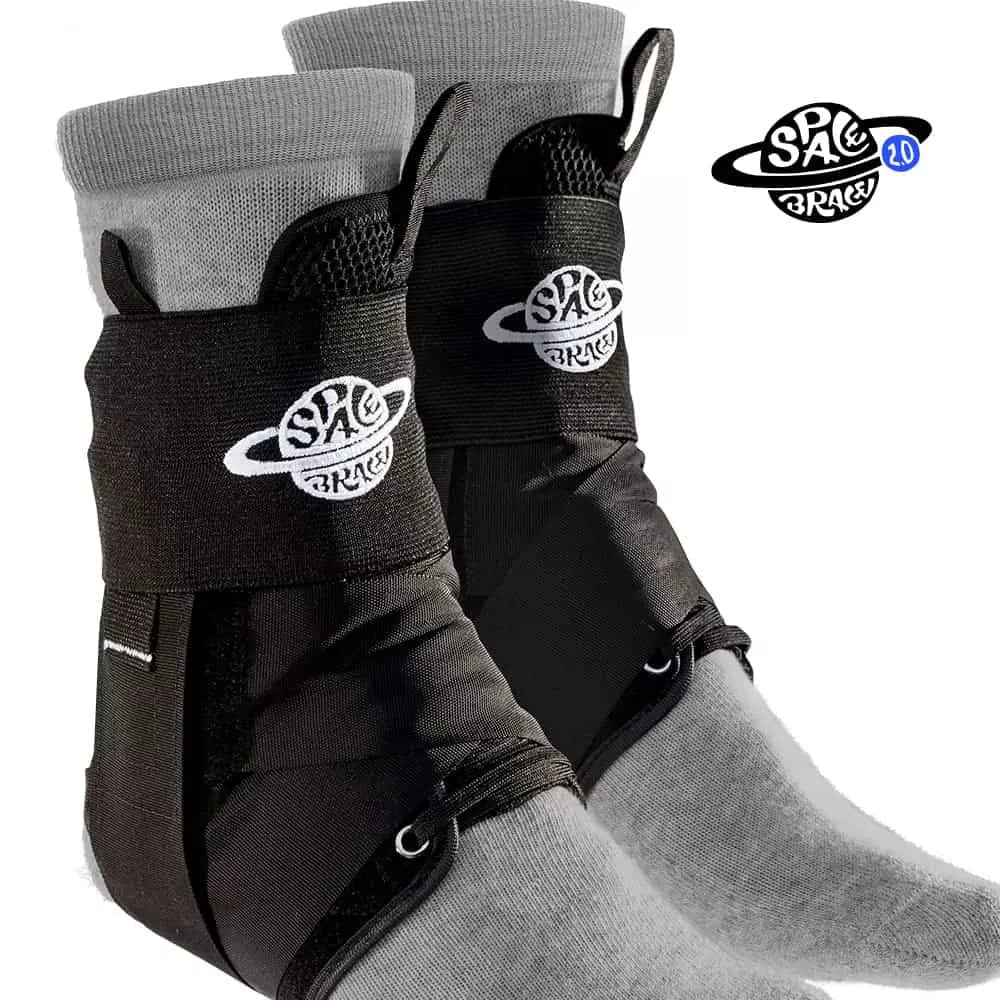 Protective Gear (Skate) - Space Brace 2.0 Quick Lace Ankle Brace
