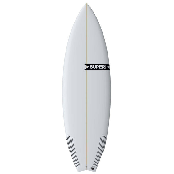 Super Brand 6'0 Spam - 3-FUT - Clear - Carbon tail - Surf Ontario