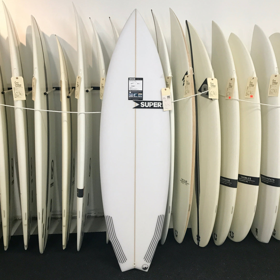 Super Brand 6'0 Spam - 3-FUT - Clear - Carbon tail*