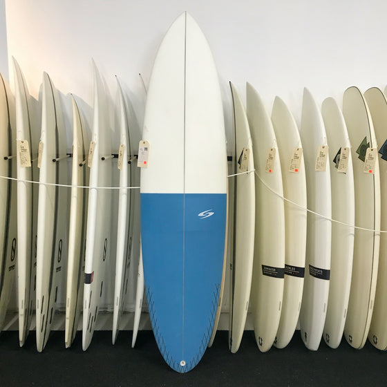 Surftech OverEasy 7'0  Fusion HD - Blue/White - FCSII