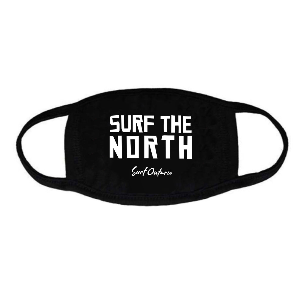 'Surf the North' Face Mask (non-medical face-covering) by Surf Ontario