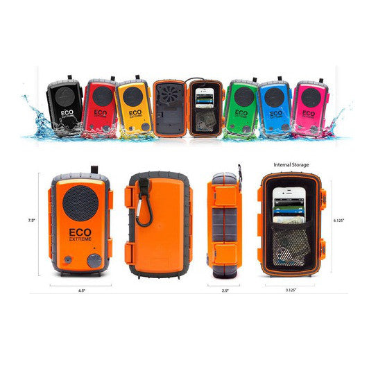 Waterproof electronic gear - Eco Extreme waterproof speaker - Surf Ontario