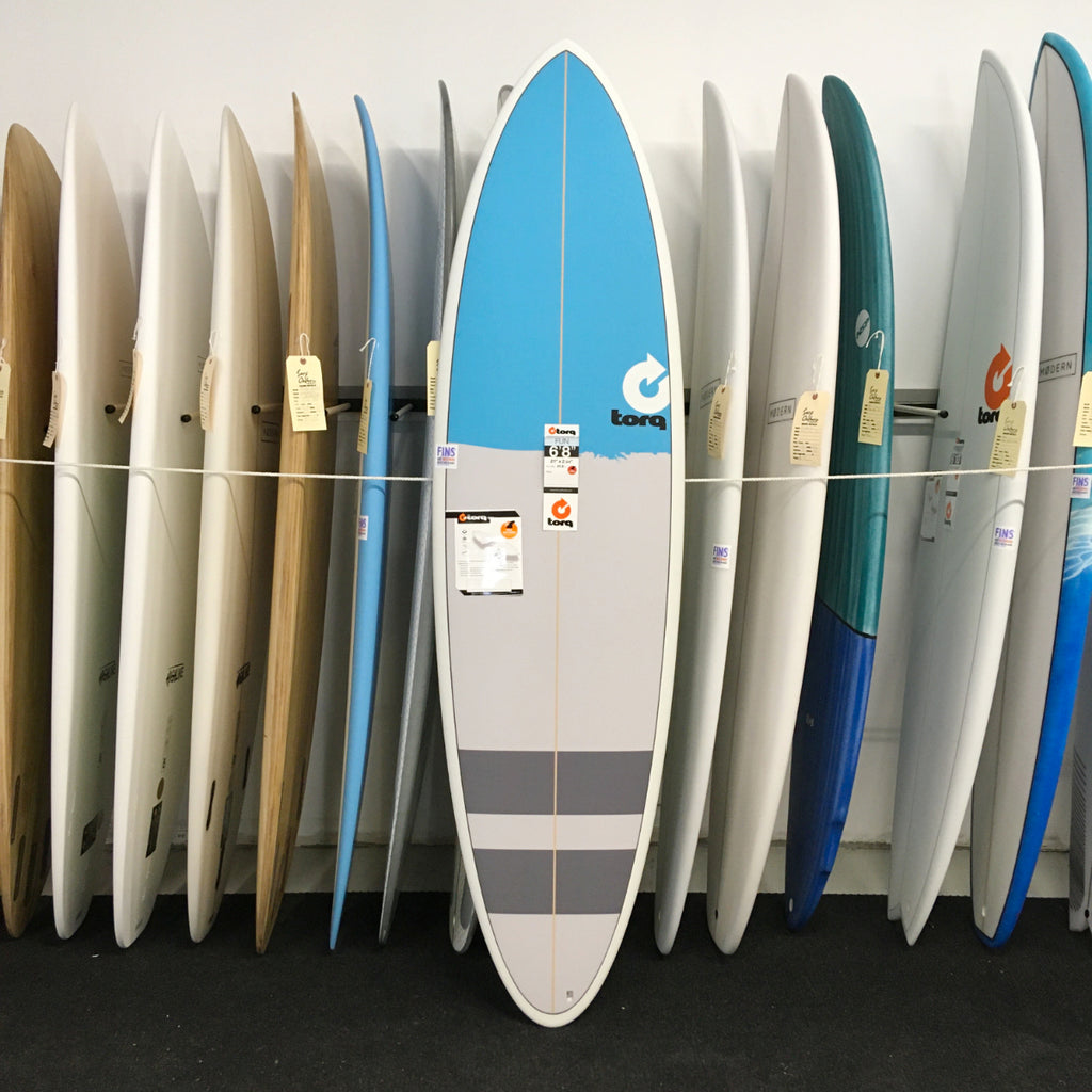 Torq 6'8 Fun New Classic - Blue Nose + Stripes