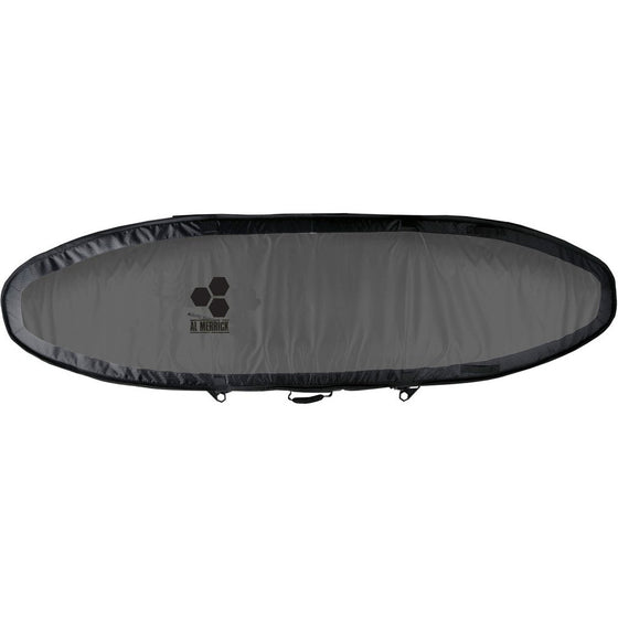 Channel Islands Board Cover - Travel Light Coffin - TEAM BAG - CHARCOAL